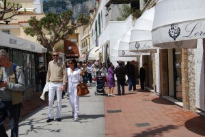 Capri - shopping