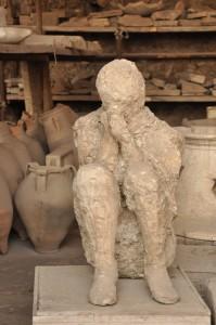 Pompeii - plaster cast